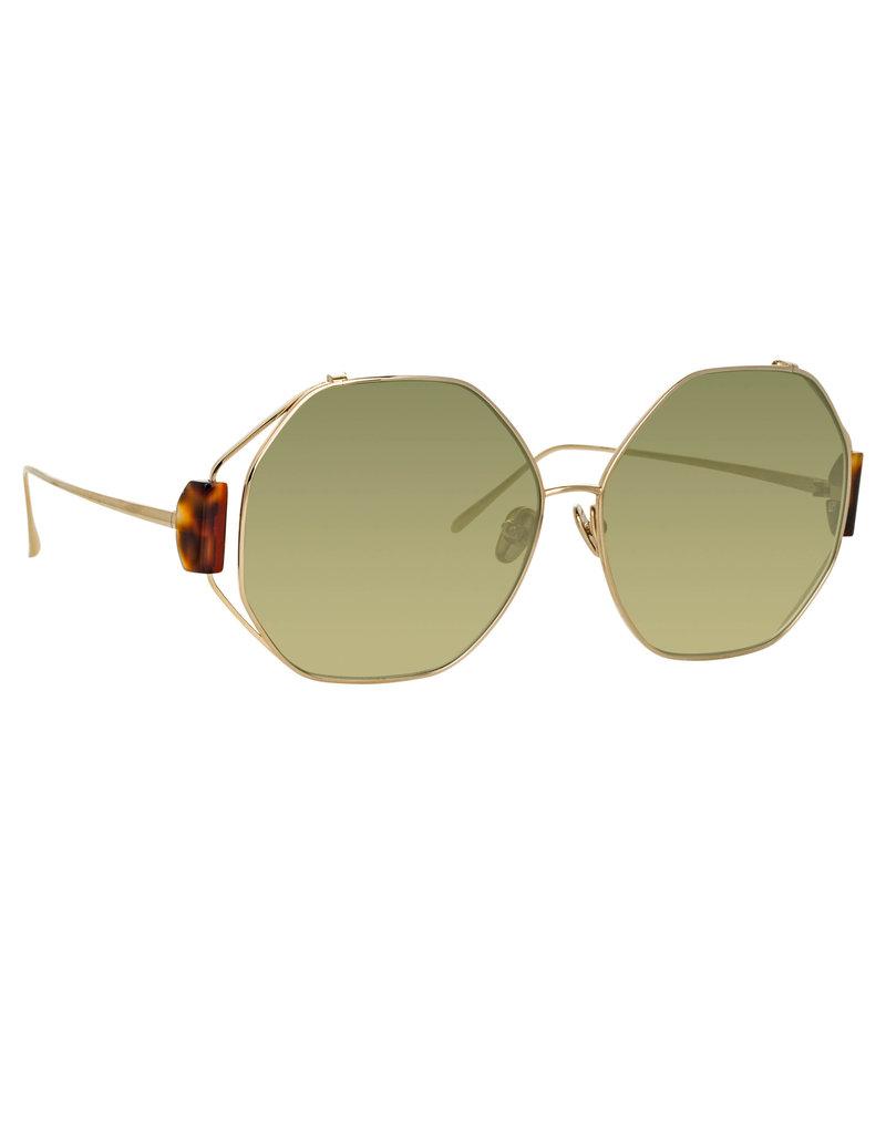 Linda Farrow Linda Farrow Marie Oversized Sunglasses