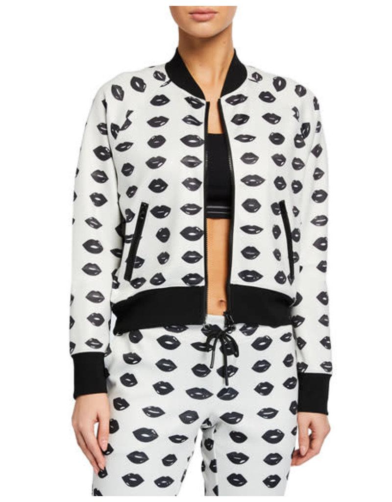 Pam & Gela Pam & Gela Lip Crop Track Jacket
