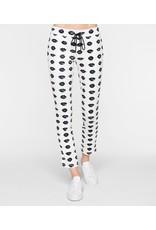 Pam & Gela Pam & Gela Lip Print Crop Track Pants