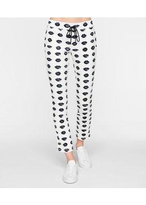 Pam & Gela Lip Print Crop Track Pants