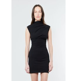 RTA Holly Twisted Jersey Dress