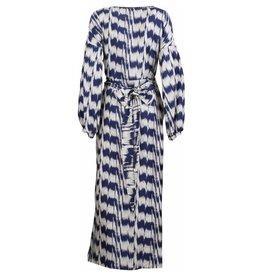 Bazar Deluxe Bazar Deluxe Printed Maxi Dress