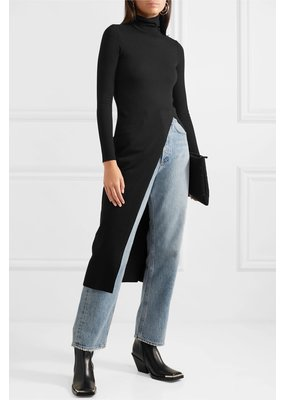 The Range Knit Rib Midi Turtleneck Tunic
