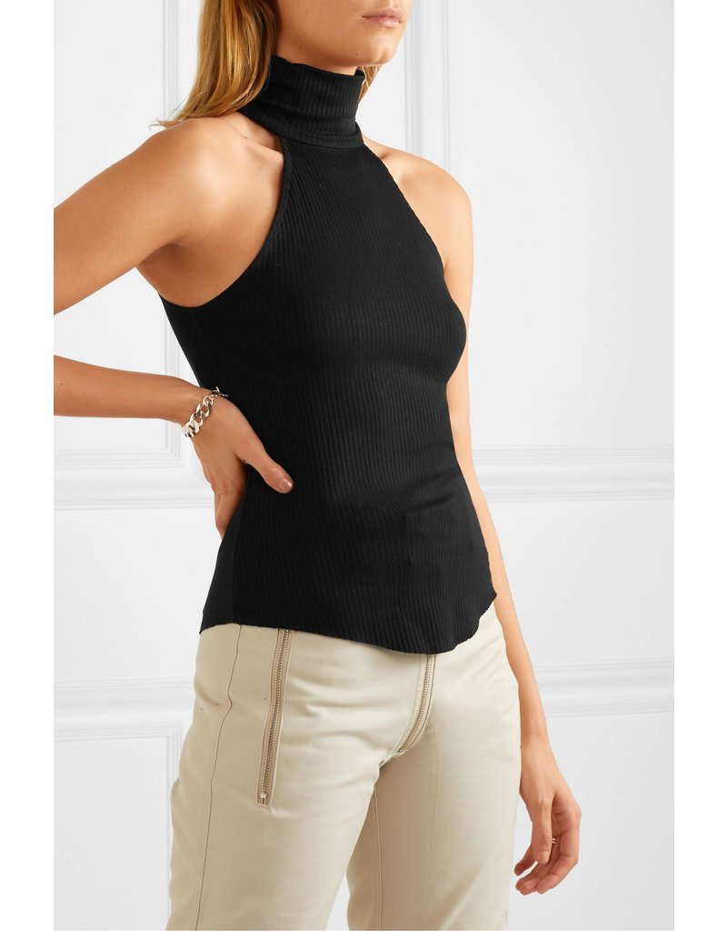 The Range The Range Knit Stacked Neck Top