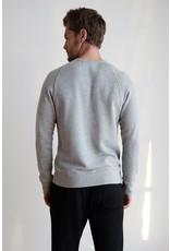 Velvet Velvet Donte Long Sleeve Raglan Top in Grey