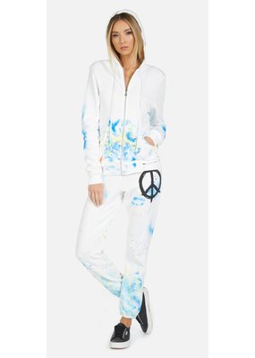 Lauren Moshi Gia Brush Peace Sweatpant