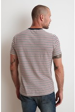 Velvet Velvet archie striped pocket tee