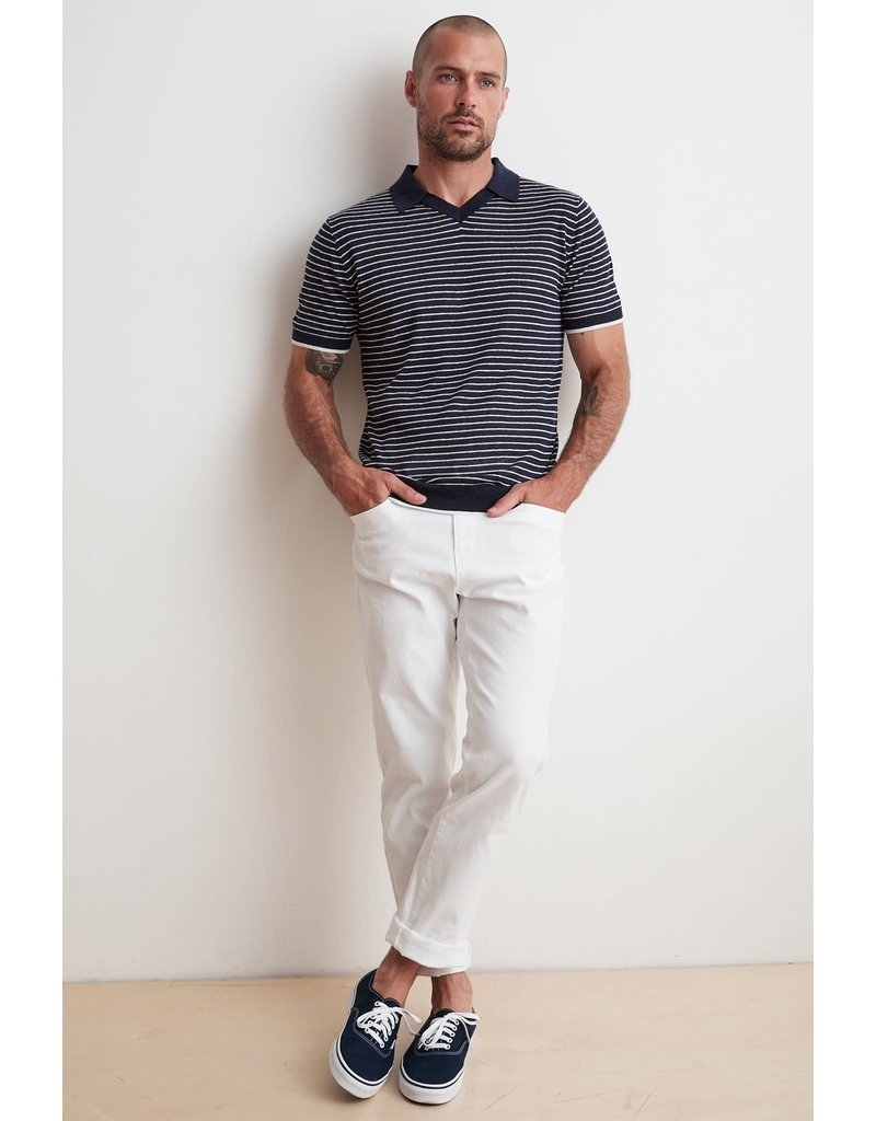 Velvet Velvet Leon Striped Polo