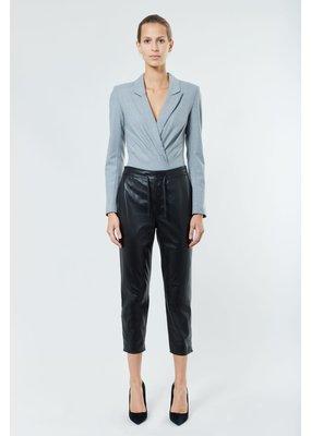 RTA Maryse Blazer Bodysuit