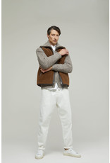 Closed Closed Reversible Lambskin Vest