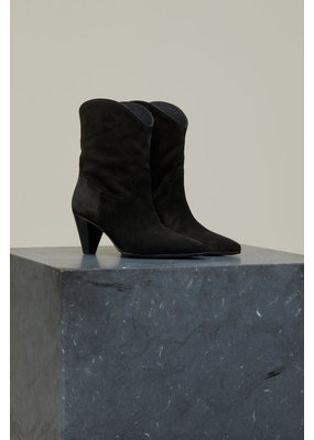 Closed Licorice Suede Boots