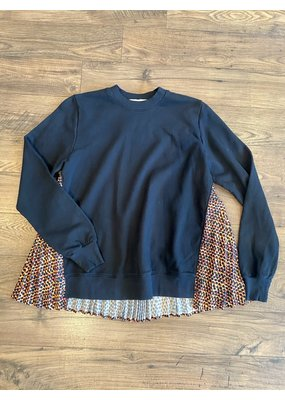 Clu Pullover With Pleating