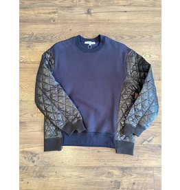 Clu Quilt Panelled Pullover