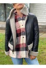 Suprema Suprema Shearling Reversible Jacket