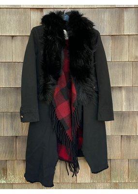 Bazar Deluxe Long Coat With Detachable Vest