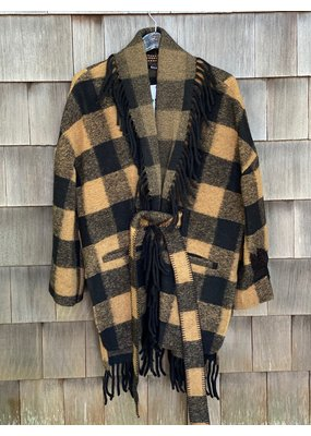 Bazar Deluxe Plaid Coat