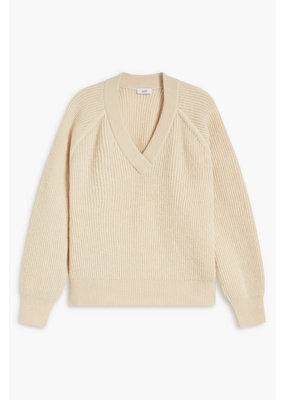 Closed Fisherman's Rib Sweater