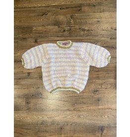 Rose Carmine Ballon Sweater