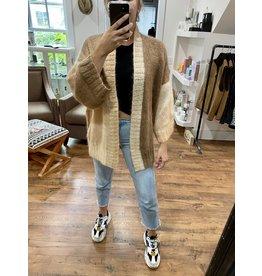 Rose Carmine Love Long Oversized Jacket