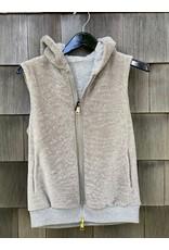 Suprema Suprema Reversible Shearling Knit Vest