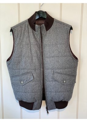 Suprema Wool Reversible Vest