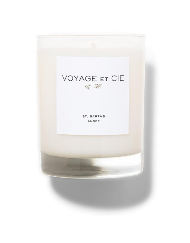Voyage ET CIE Voyage St. Barths Amber Highball Candle