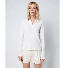 RE/DONE Henley Thermal Long Sleeve