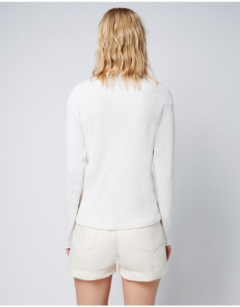 RE/DONE Re/Done Henley Thermal Long Sleeve