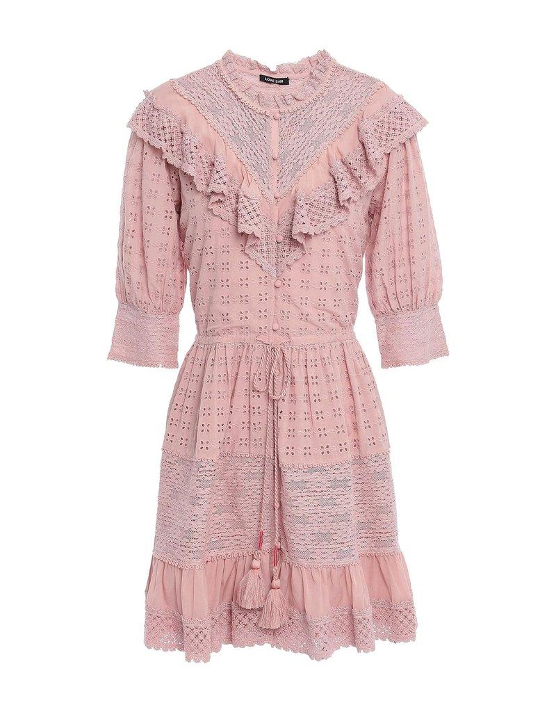 Love Sam Love Sam Flower Trails Mini Dress