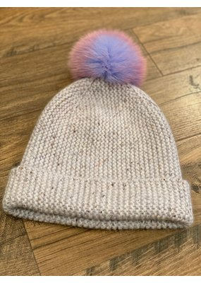 Autumn Cashmere Unicorn Pom Pom hat