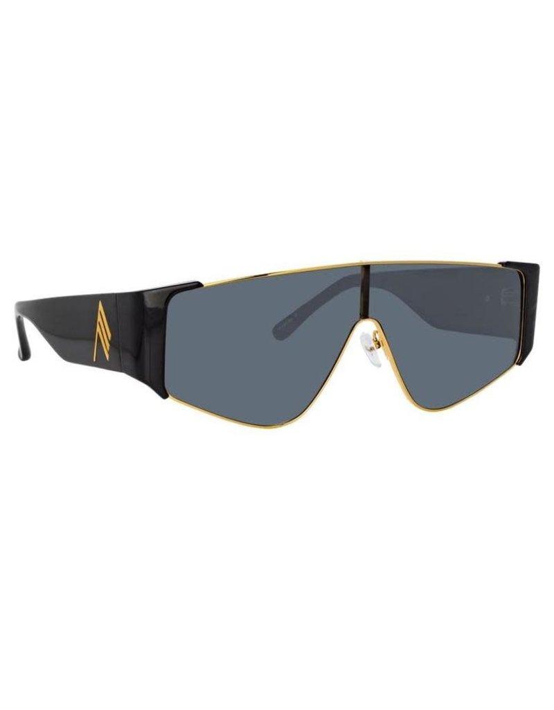Linda Farrow Linda Farrow Attico Carlijn Shield Sunglasses