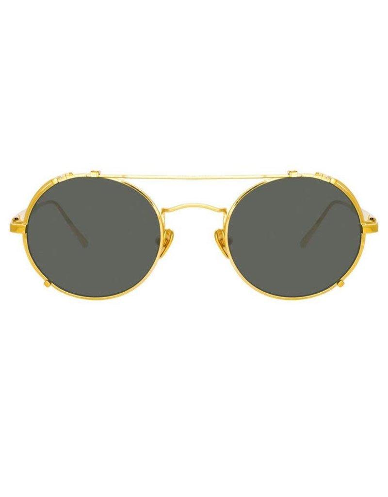 Linda Farrow Linda Farrow Jimi Oval Sunglasses