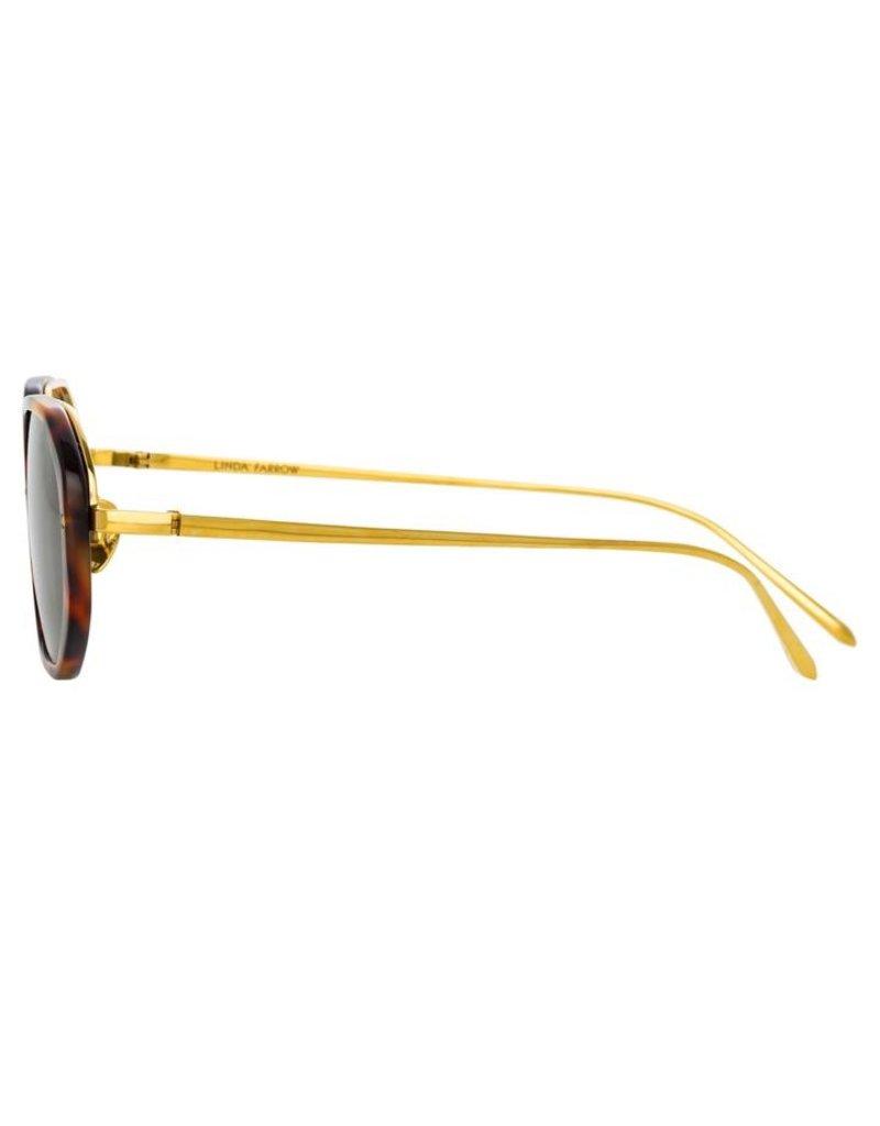 Linda Farrow Linda Farrow Tyler Angular Sunglasses