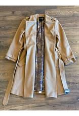Le Superbe Le Superbe Striped Belted Trench Coat