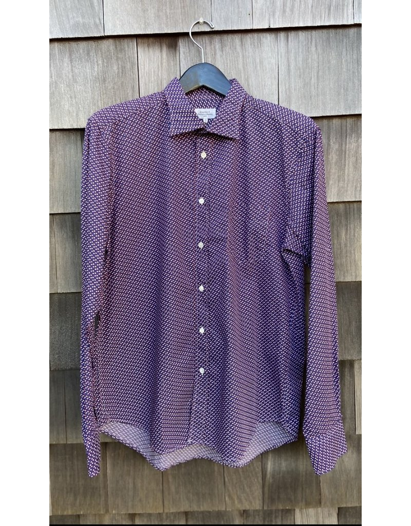 Hartford Hartford Paul printed button down