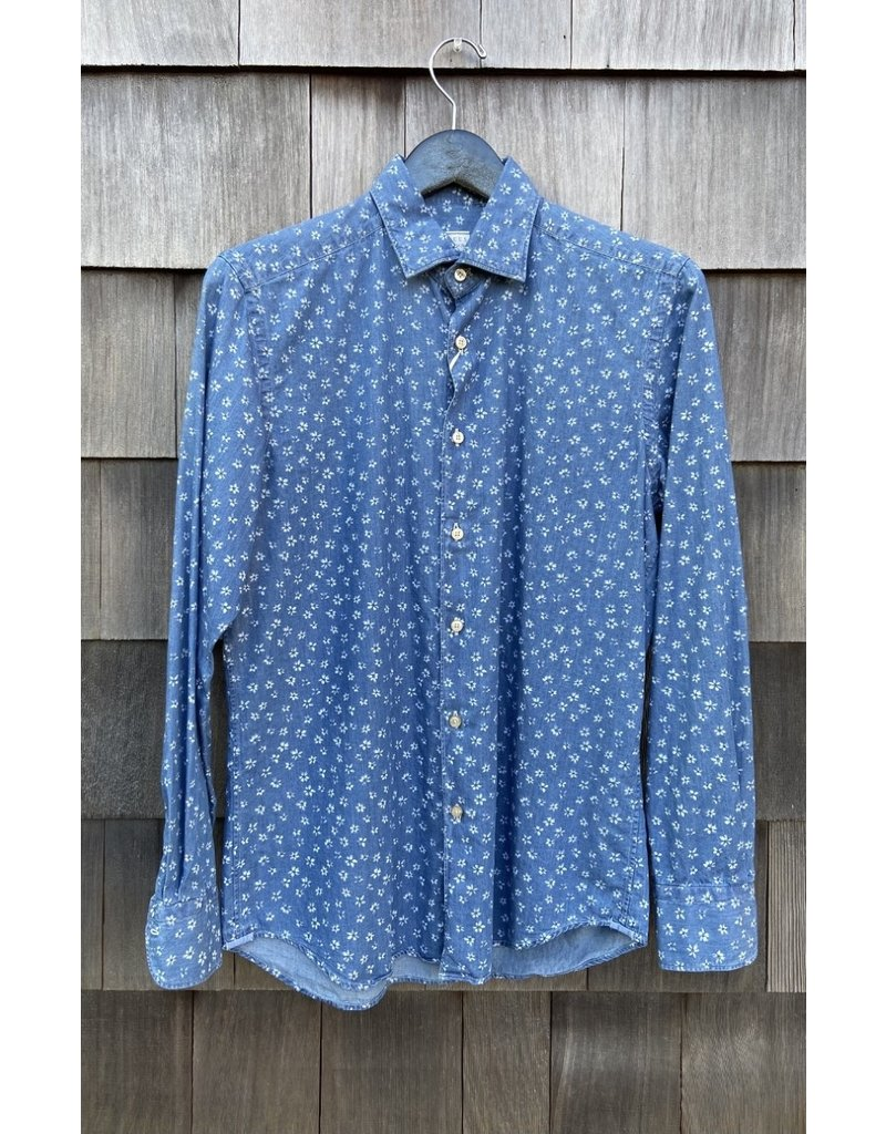Xacus Xacus Floral Button Down