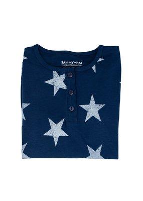 Sammy+Nat Star Pajama Set for Mom