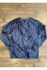 Autumn Cashmere Autumn Cashmere Marble Print Sweater