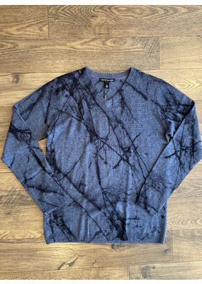 Autumn Cashmere Marble Print Sweater