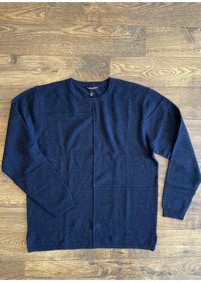 Autumn Cashmere Patchwork Crew Sweater