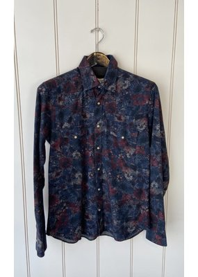 Tintoria Mattei Dark Floral Button Down