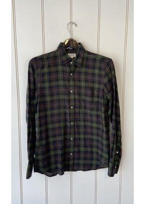 Hartford Stormy Woven Shirt
