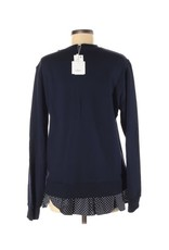 Clu Too Clu Too Polka Dot Ruffled Sweatshirt