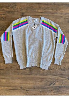 PRVLG Cashmere Stripe Sweater