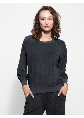 The Great Micro Terry Bubble Sweatshirt