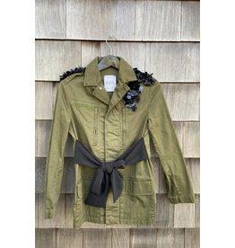 History Repeats Military Sequin Shoulders Jacket