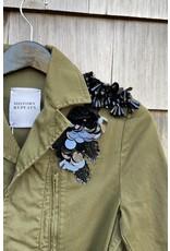 History Repeats History Repeats Military Sequin Shoulders Jacket