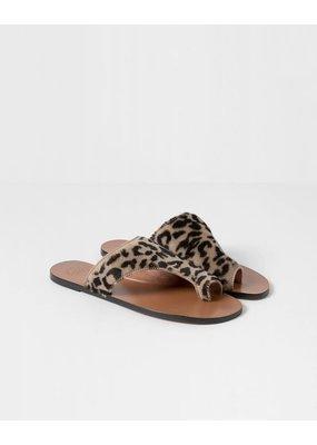Atelier Rosa Fur Sandal