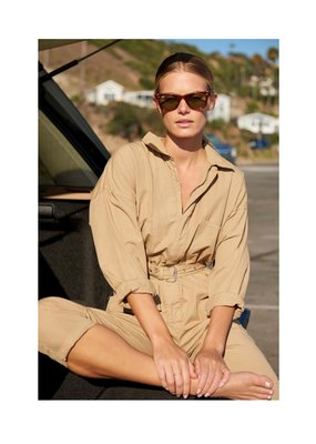 Overlover Maple Poplin Cotton Jumpsuit