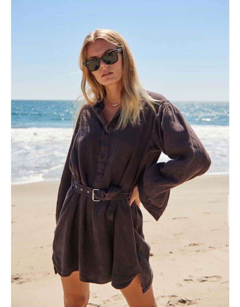 Overlover Overlover Sunshine Vintage Linen Dress